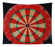 The Dart Board Tapestry