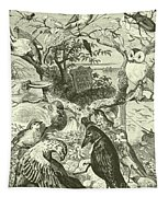 The Death And Burial Of Cock Robin Tapestry