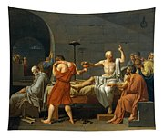 The Death Of Socrates Tapestry