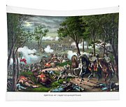 The Death Of Stonewall Jackson Tapestry