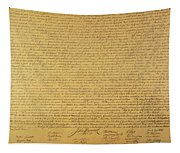 The Declaration Of Independence Tapestry