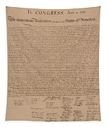 The Declaration Of Independence Tapestry by War Is Hell Store