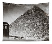The Doctor Travels Tapestry