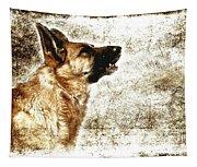 The Dog Speaks Tapestry