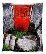 The Door Below Tapestry