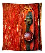 The Door Handle  Tapestry