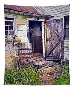 The Door Is Always Open Tapestry