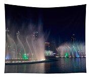 The Dubai Fountain At Burj Khalifa Tapestry