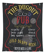The Dugout Pub Tapestry