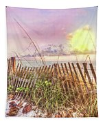 The Dunes In Watercolors Tapestry