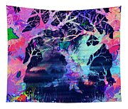 The Enchanted Wood Tapestry