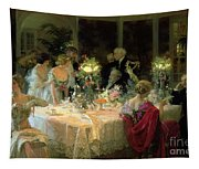 The End Of Dinner Tapestry