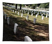 Arlington Tombstones Shade And Light Tapestry
