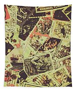 The English Postage Scene Tapestry