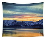 The Evening Colors Tapestry