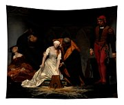 The Execution Of Lady Jane Grey In The Tower Of London In The Year 1554 Tapestry