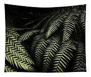 The Exotic Dark Jungle Tapestry