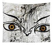 The Eyes Of Guru Rimpoche  Tapestry