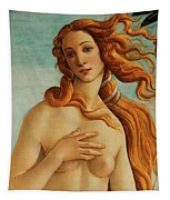 The Face Of Venus Tapestry