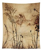The Fairy's Tightrope From Peter Pan In Kensington Gardens Tapestry