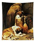 The Faith Of Saint Bernard Tapestry