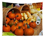 The Fall Harvest Is In Kendall Square Farmers Market Tapestry