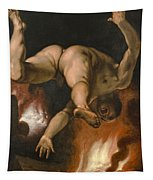 The Fall Of Ixion Tapestry