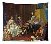 The Family Of Philip Of Parma  Tapestry