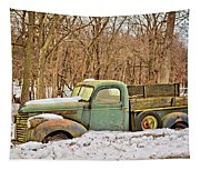 The Farm Truck Tapestry