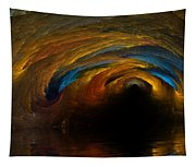The Fire Caves Of Riagle Tapestry