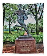 The First Football Game Monument Tapestry
