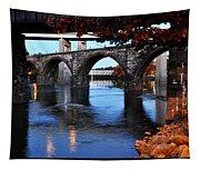 The Five Bridges - East Falls - Philadelphia Tapestry