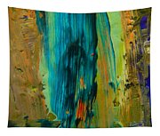 The Flair Of The Flame Abstract Tapestry