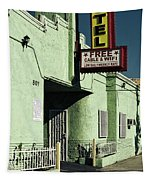 The Flores Motel Tapestry