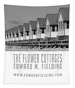 The Flower Cottages By Edward M. Fielding Tapestry