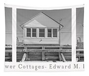 The Flower Cottages Trio Poster Tapestry
