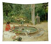 The Flower Garden Tapestry