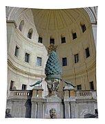 The Fontana Della Pigna In The Vatican City Tapestry
