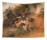 The Foraging Hussar 1840 Tapestry