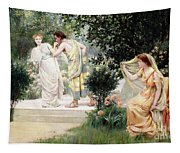 The Forbidden Kiss Tapestry