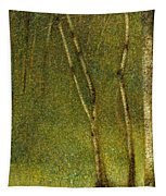 The Forest At Pontaubert, 1881 Tapestry