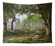 The Forest Of Fontainebleau Tapestry