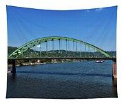 The Fort Henry Bridge - Wheeling West Virginia Tapestry