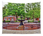 The Fountain At Radford University Tapestry