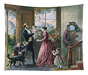 The Four Seasons Of Life  Middle Age Tapestry