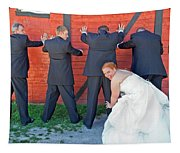 The Frisky Bride Tapestry