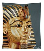 The Funerary Mask Of Tutankhamun Tapestry