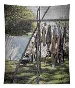 The Fur Trader's Camp 1812 Tapestry