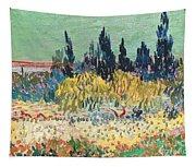 The Garden At Arles  Tapestry