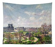 The Garden Of The Tuileries Tapestry